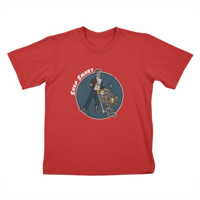 Shop Smart Kids T-Shirt by Urban Prey's Artist Shop