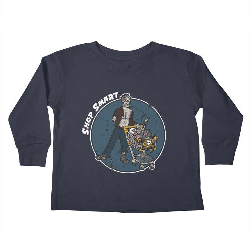 Shop Smart Kids Toddler Longsleeve T-Shirt by Urban Prey's Artist Shop