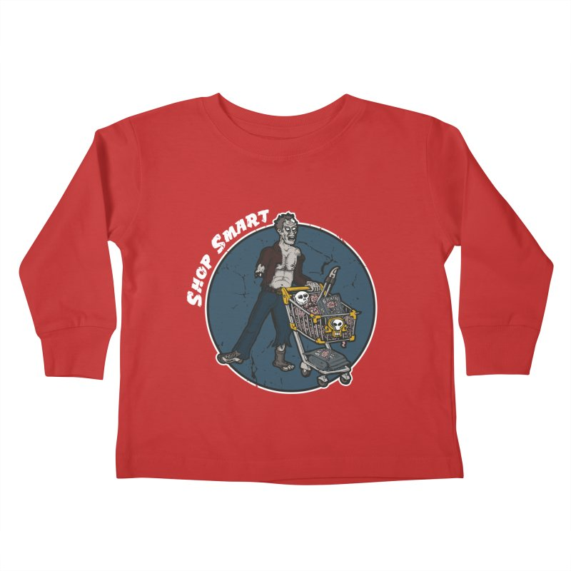Shop Smart Kids Toddler Longsleeve T-Shirt by Urban Prey's Artist Shop