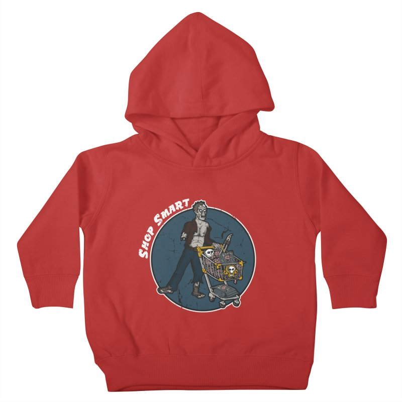 Shop Smart Kids Toddler Pullover Hoody by Urban Prey's Artist Shop