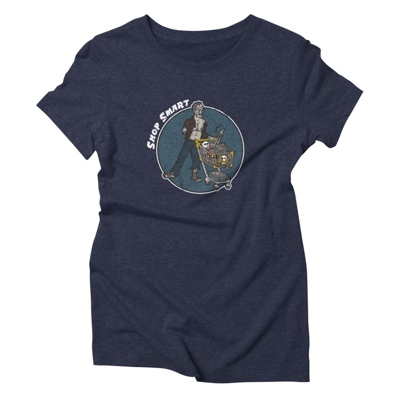 Shop Smart Women's T-Shirt by Urban Prey's Artist Shop