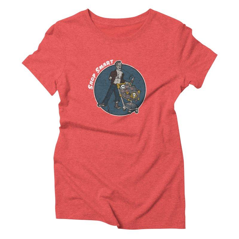 Shop Smart Women's Triblend T-Shirt by Urban Prey's Artist Shop