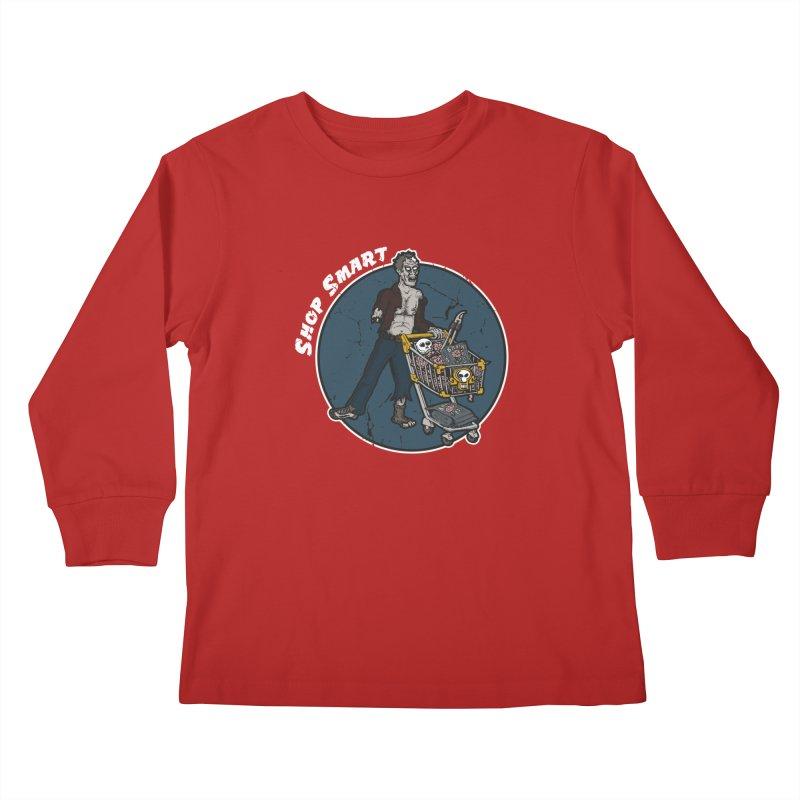 Shop Smart Kids Longsleeve T-Shirt by Urban Prey's Artist Shop