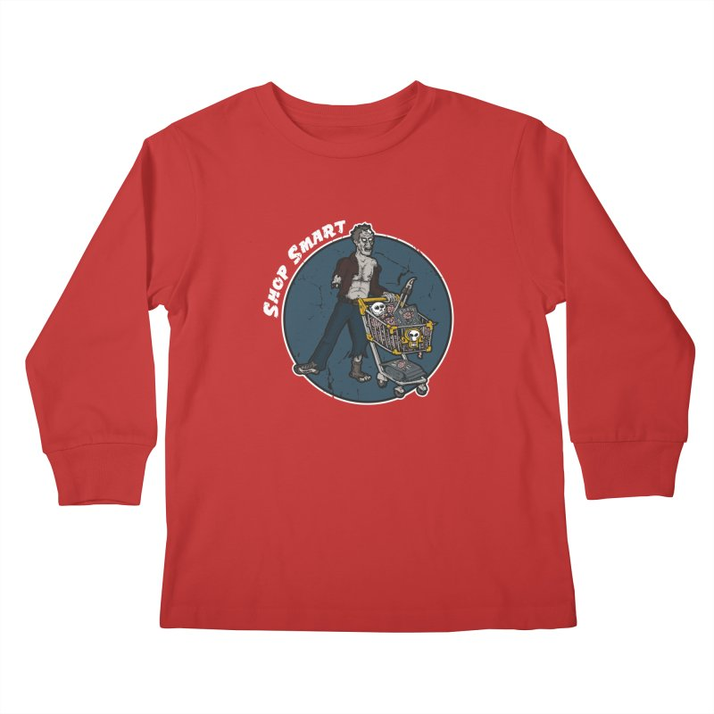 Shop Smart Kids Longsleeve T-Shirt by Urban Prey's Artist Shop