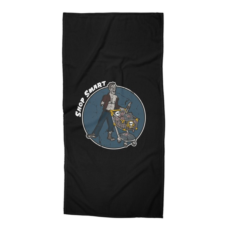 Shop Smart Accessories Beach Towel by Urban Prey's Artist Shop