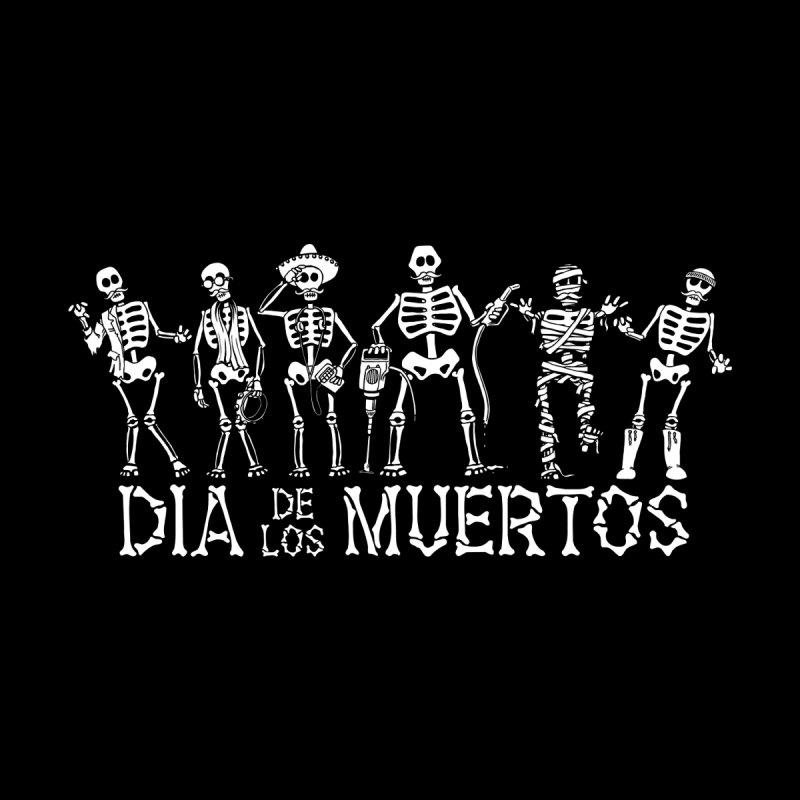 Dia de los Muertos Men's V-Neck by Urban Prey's Artist Shop