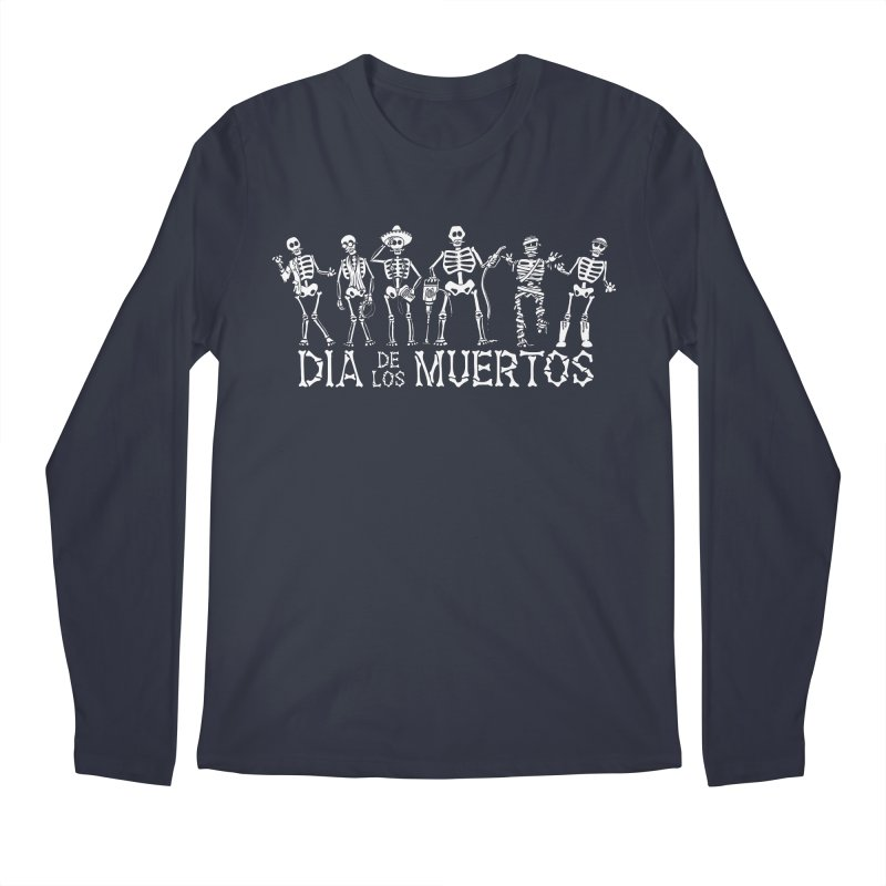 Dia de los Muertos Men's Regular Longsleeve T-Shirt by Urban Prey's Artist Shop