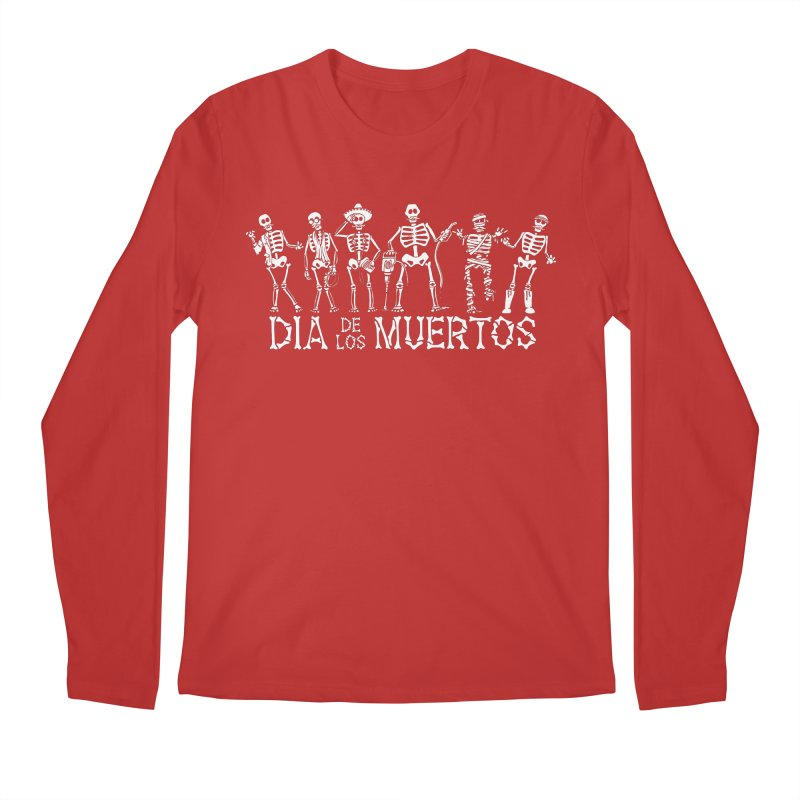 Dia de los Muertos Men's Longsleeve T-Shirt by Urban Prey's Artist Shop