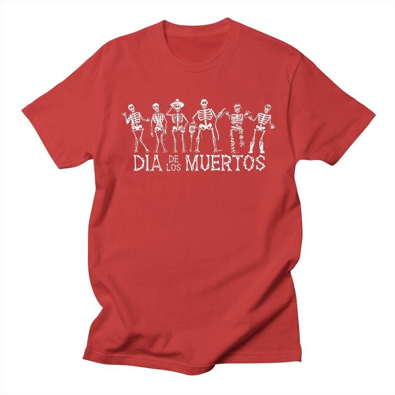 Dia de los Muertos Men's Regular T-Shirt by Urban Prey's Artist Shop
