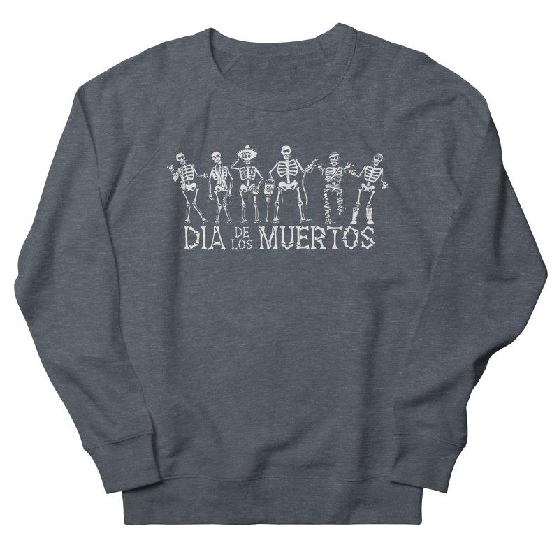 Dia de los Muertos Women's French Terry Sweatshirt by Urban Prey's Artist Shop
