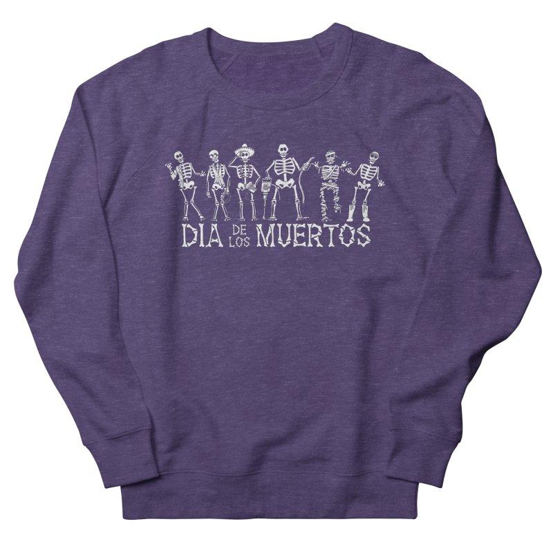 Dia de los Muertos Men's French Terry Sweatshirt by Urban Prey's Artist Shop