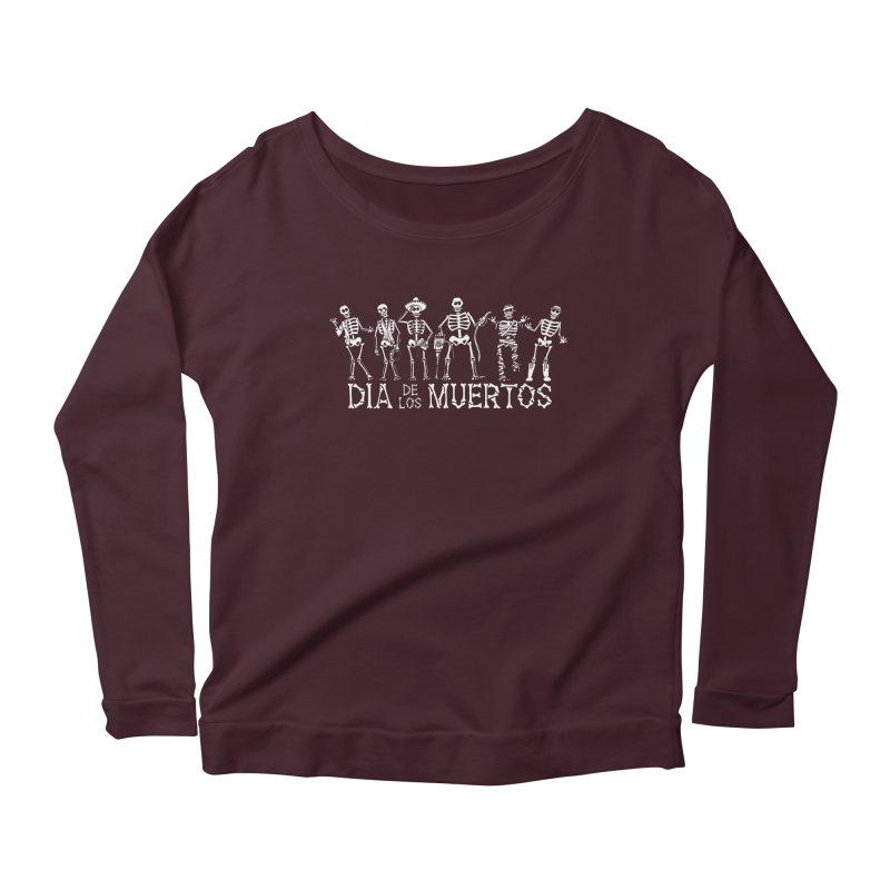 Dia de los Muertos Women's Scoop Neck Longsleeve T-Shirt by Urban Prey's Artist Shop