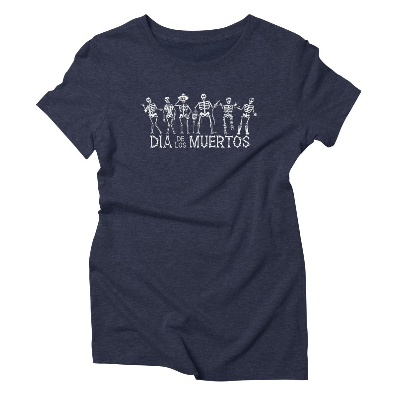 Dia de los Muertos Women's T-Shirt by Urban Prey's Artist Shop