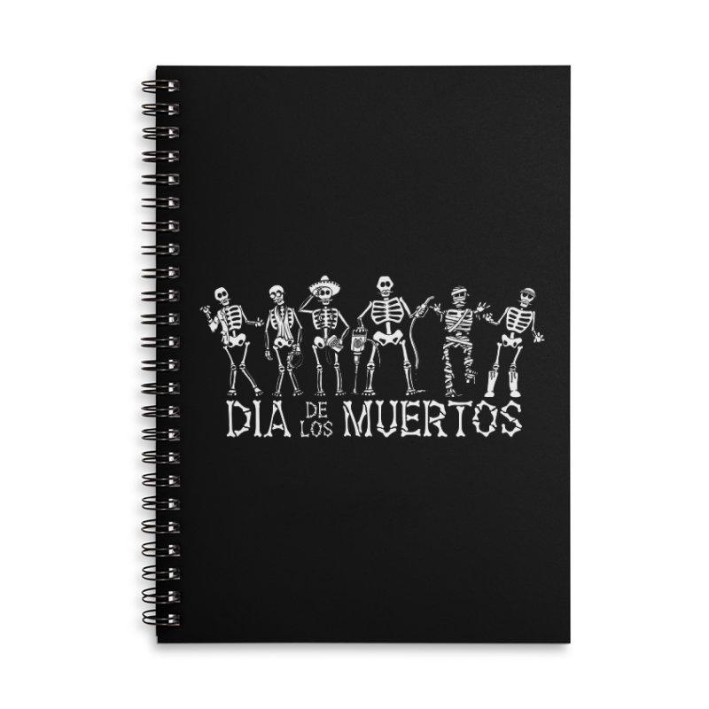 Dia de los Muertos Accessories Notebook by Urban Prey's Artist Shop
