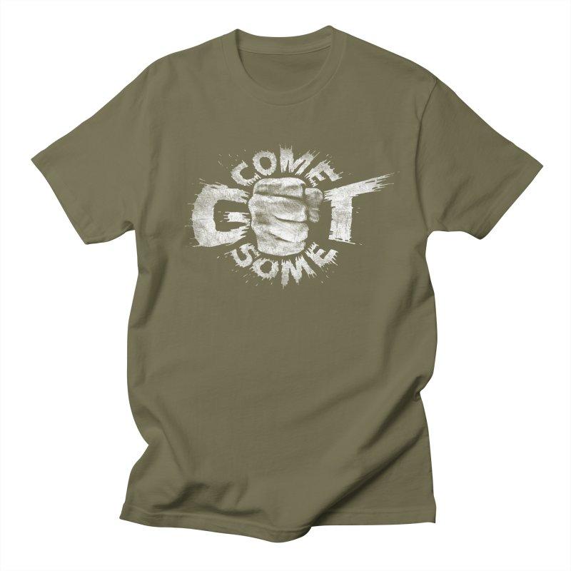 Come get some - white Men's T-Shirt by Urban Prey's Artist Shop