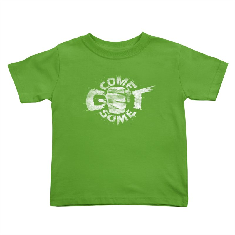 Come get some - white Kids Toddler T-Shirt by Urban Prey's Artist Shop
