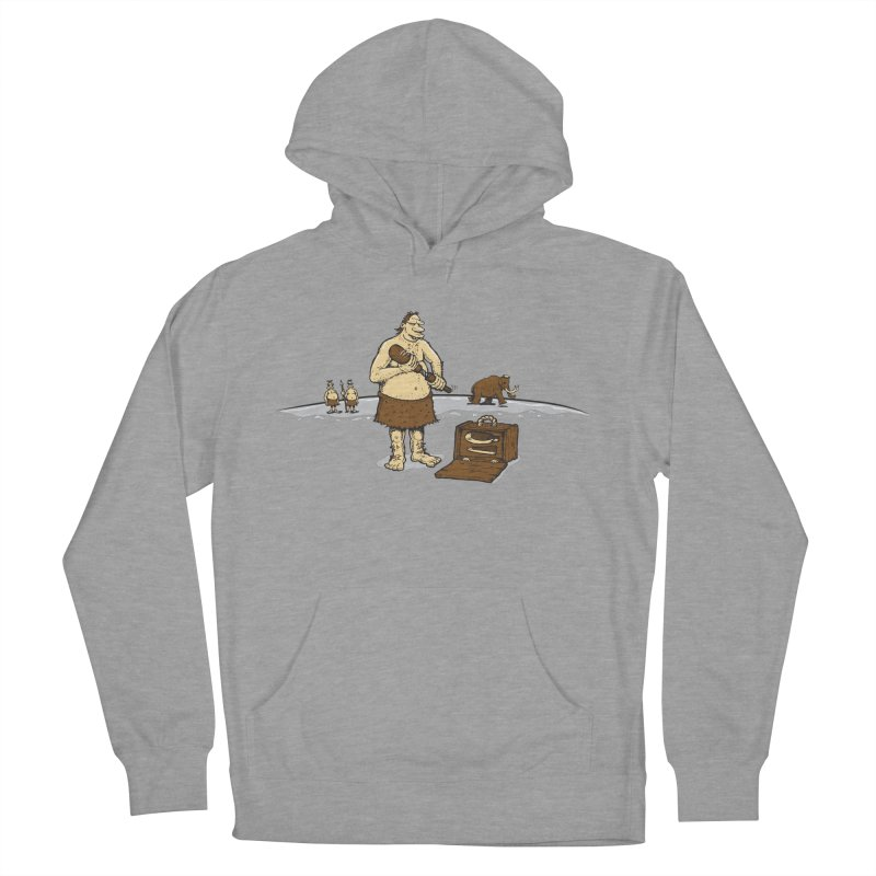 Hitman of the Stoneage Women's Pullover Hoody by Urban Prey's Artist Shop