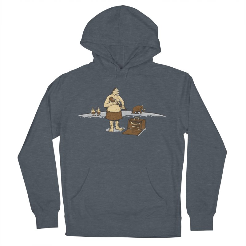 Hitman of the Stoneage Men's Pullover Hoody by Urban Prey's Artist Shop
