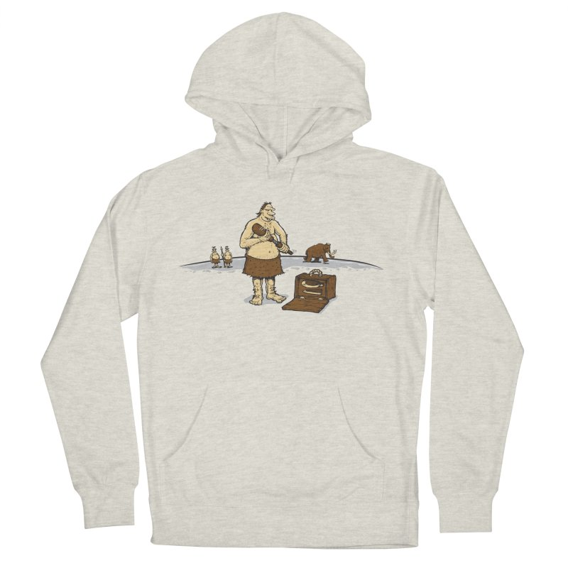 Hitman of the Stoneage Men's French Terry Pullover Hoody by Urban Prey's Artist Shop