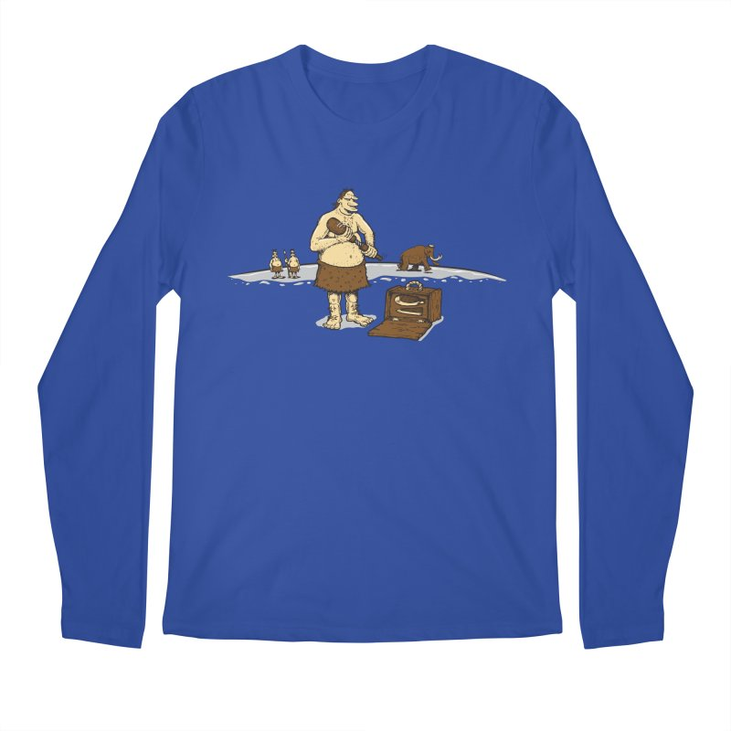 Hitman of the Stoneage Men's Regular Longsleeve T-Shirt by Urban Prey's Artist Shop