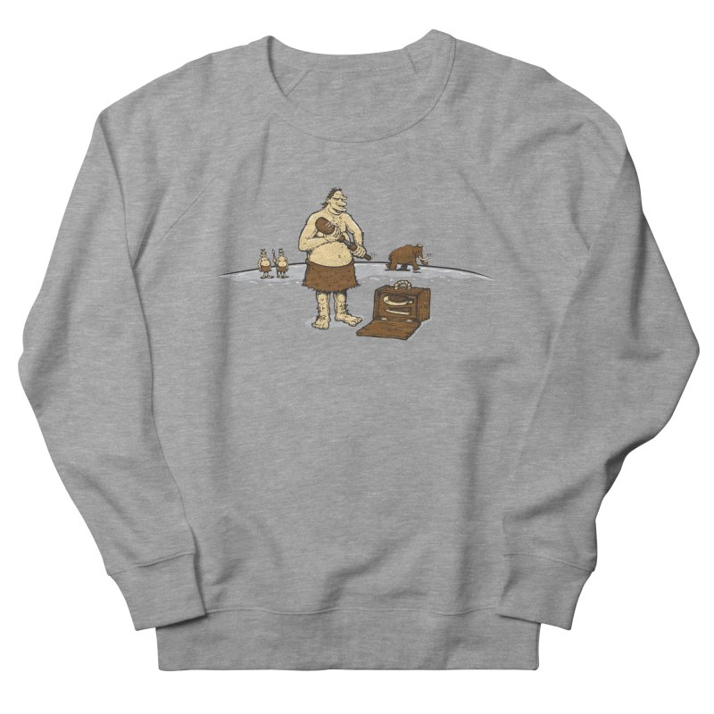 Hitman of the Stoneage Women's French Terry Sweatshirt by Urban Prey's Artist Shop