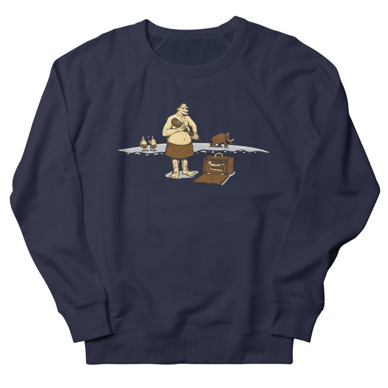 Hitman of the Stoneage Men's Sweatshirt by Urban Prey's Artist Shop