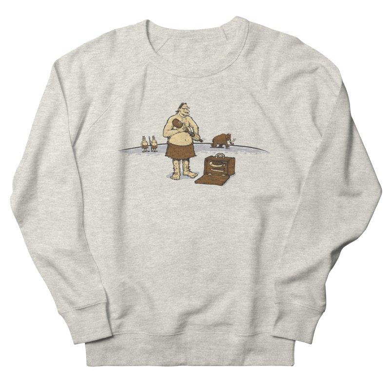 Hitman of the Stoneage Men's French Terry Sweatshirt by Urban Prey's Artist Shop