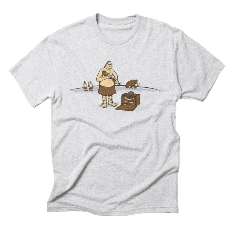 Hitman of the Stoneage Men's Triblend T-Shirt by Urban Prey's Artist Shop