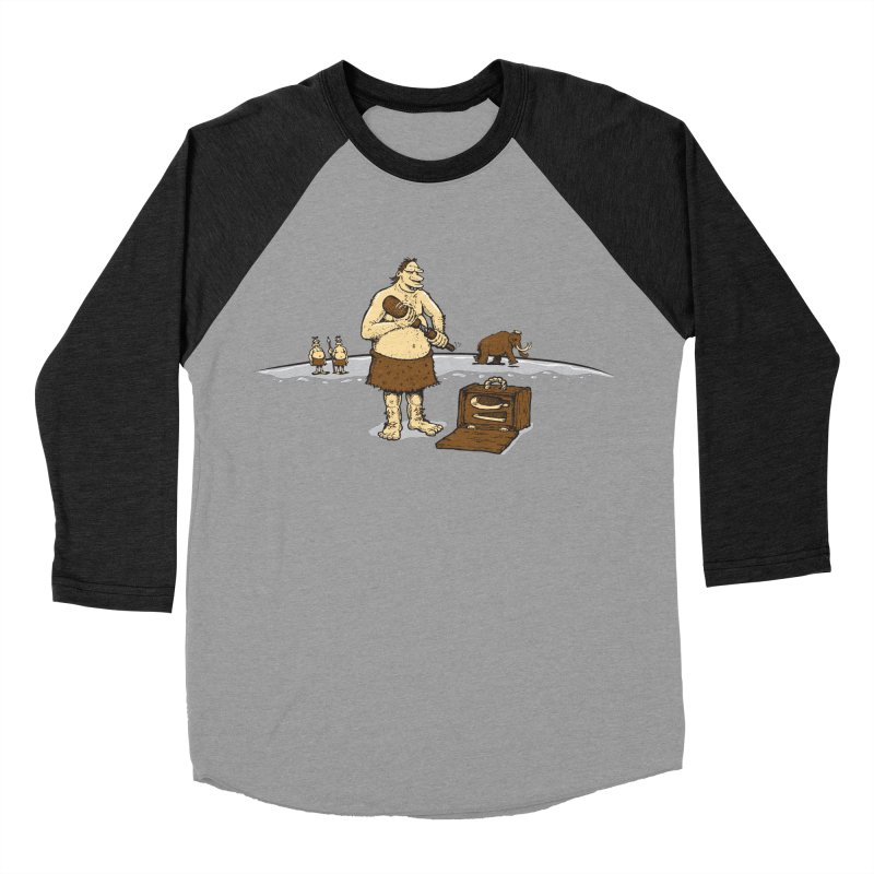 Hitman of the Stoneage Men's Baseball Triblend Longsleeve T-Shirt by Urban Prey's Artist Shop