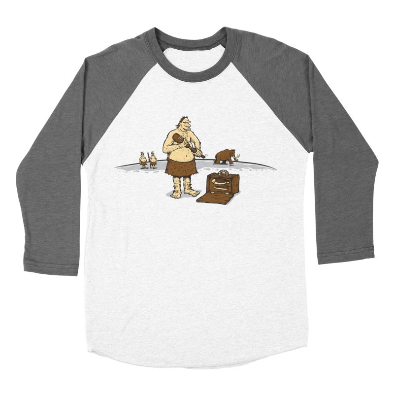 Hitman of the Stoneage Men's Baseball Triblend Longsleeve T-Shirt by Urban Prey's Artist Shop