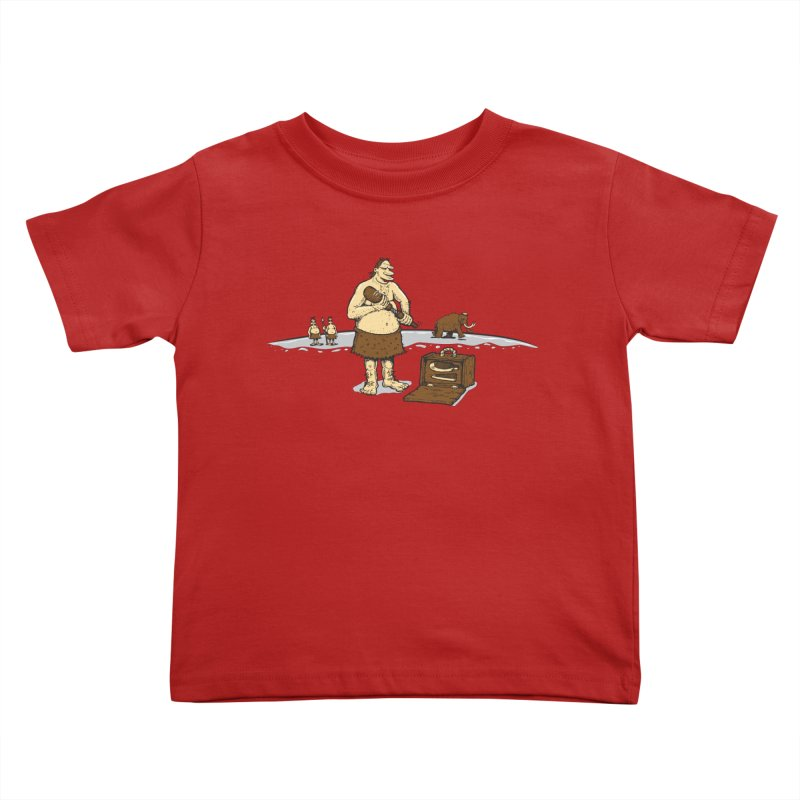 Hitman of the Stoneage Kids Toddler T-Shirt by Urban Prey's Artist Shop