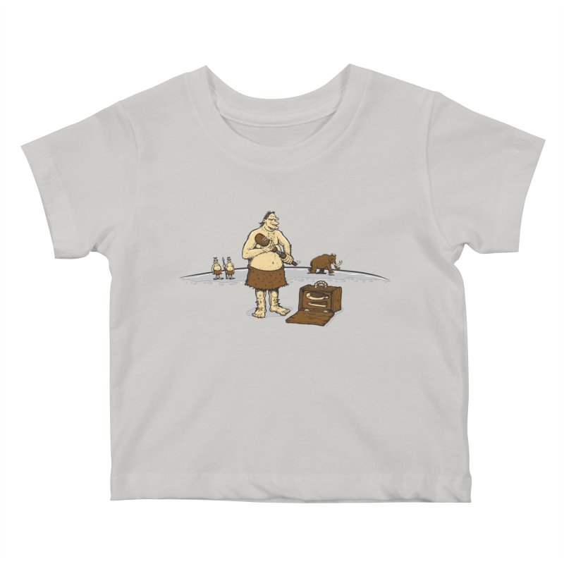 Hitman of the Stoneage Kids Baby T-Shirt by Urban Prey's Artist Shop