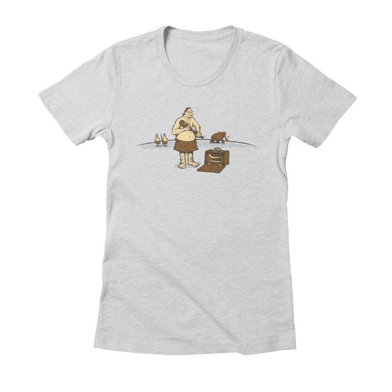 Hitman of the Stoneage Women's T-Shirt by Urban Prey's Artist Shop
