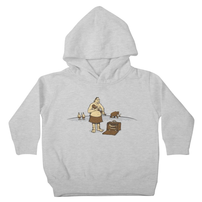 Hitman of the Stoneage Kids Toddler Pullover Hoody by Urban Prey's Artist Shop