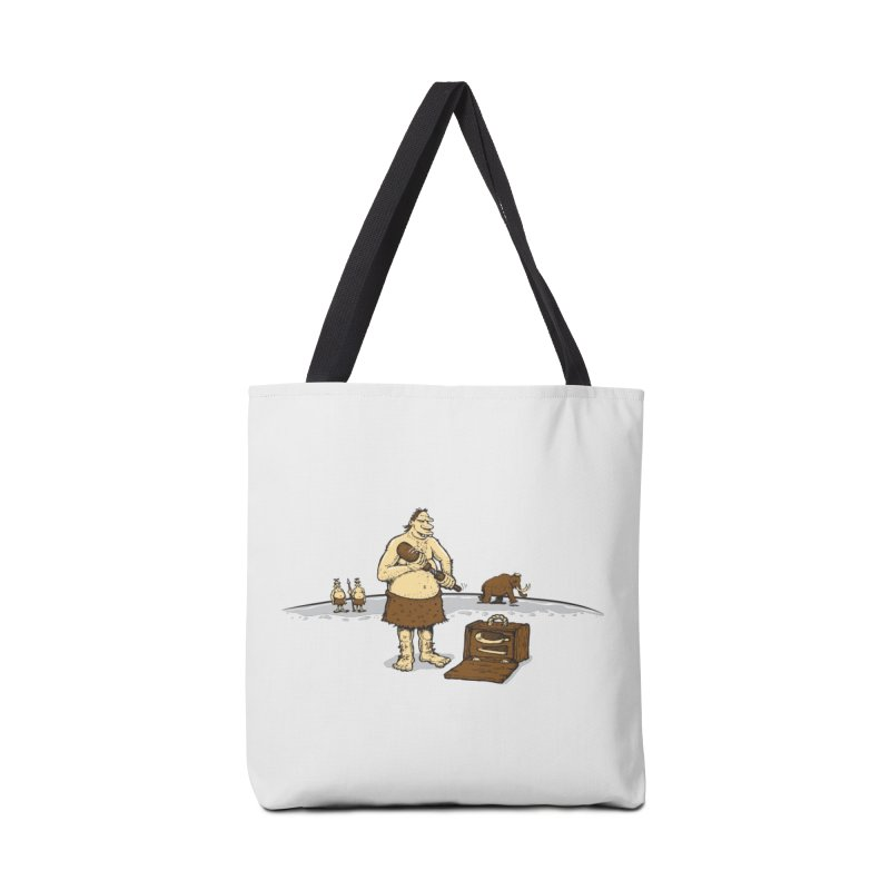 Hitman of the Stoneage Accessories Tote Bag Bag by Urban Prey's Artist Shop
