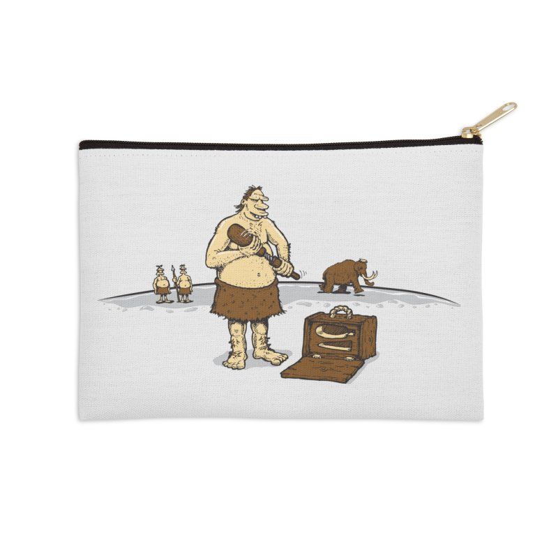 Hitman of the Stoneage Accessories Zip Pouch by Urban Prey's Artist Shop