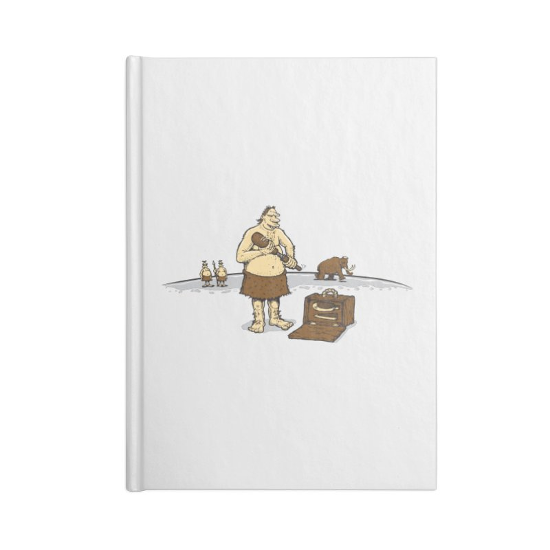 Hitman of the Stoneage Accessories Notebook by Urban Prey's Artist Shop