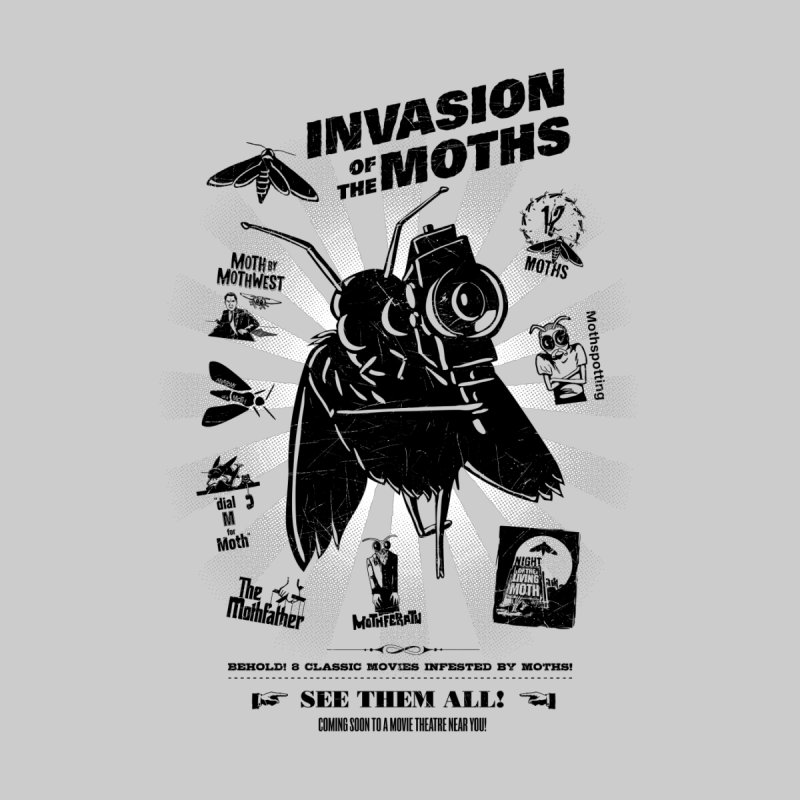 Invasion of the Moths Accessories Zip Pouch by Urban Prey's Artist Shop