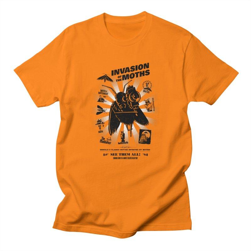 Invasion of the Moths Men's T-Shirt by Urban Prey's Artist Shop