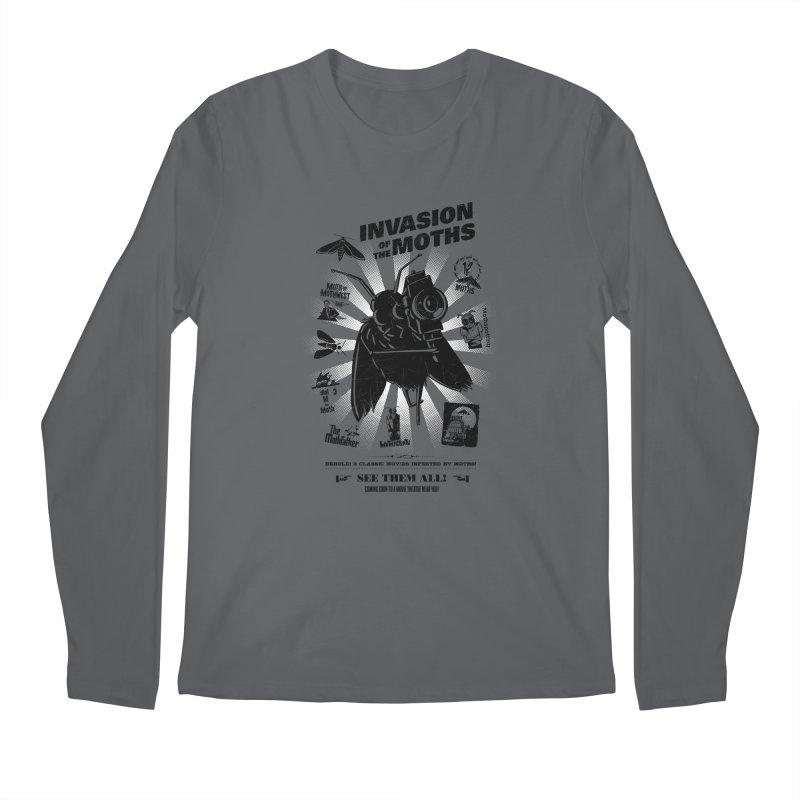 Invasion of the Moths Men's Longsleeve T-Shirt by Urban Prey's Artist Shop