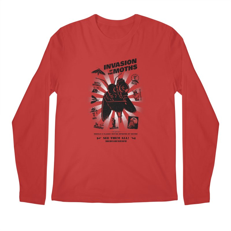 Invasion of the Moths Men's Regular Longsleeve T-Shirt by Urban Prey's Artist Shop