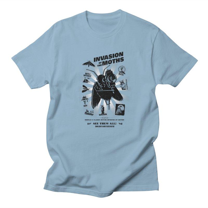 Invasion of the Moths Men's Regular T-Shirt by Urban Prey's Artist Shop