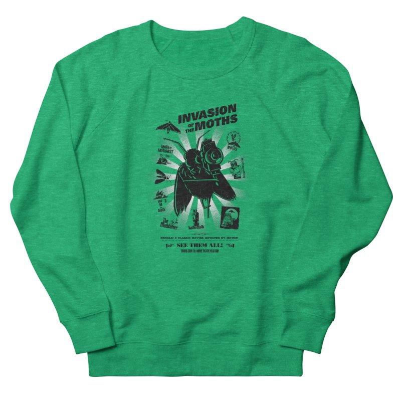 Invasion of the Moths Women's Sweatshirt by Urban Prey's Artist Shop