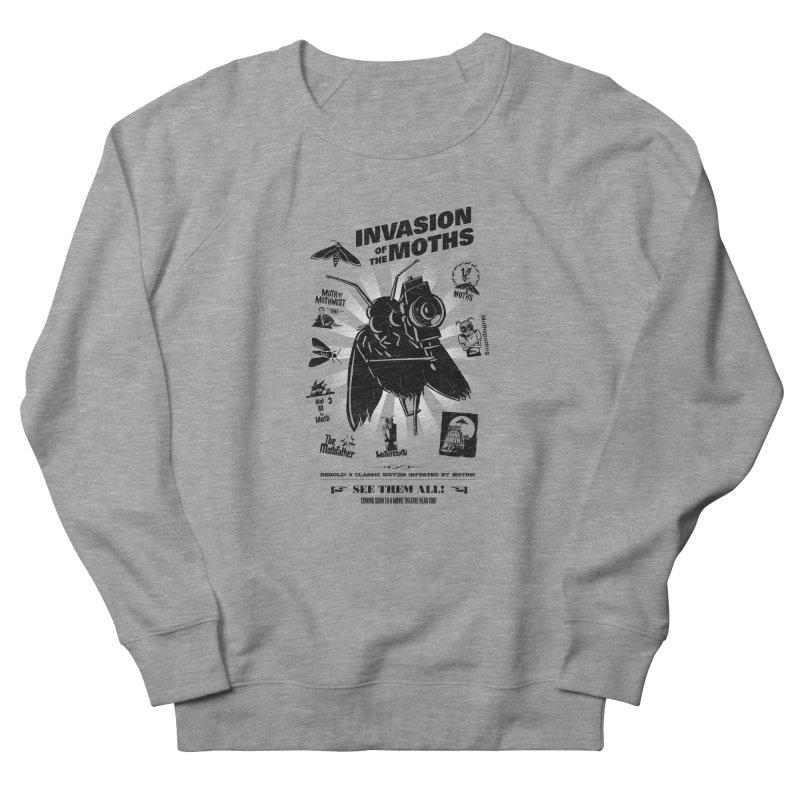 Invasion of the Moths Women's French Terry Sweatshirt by Urban Prey's Artist Shop