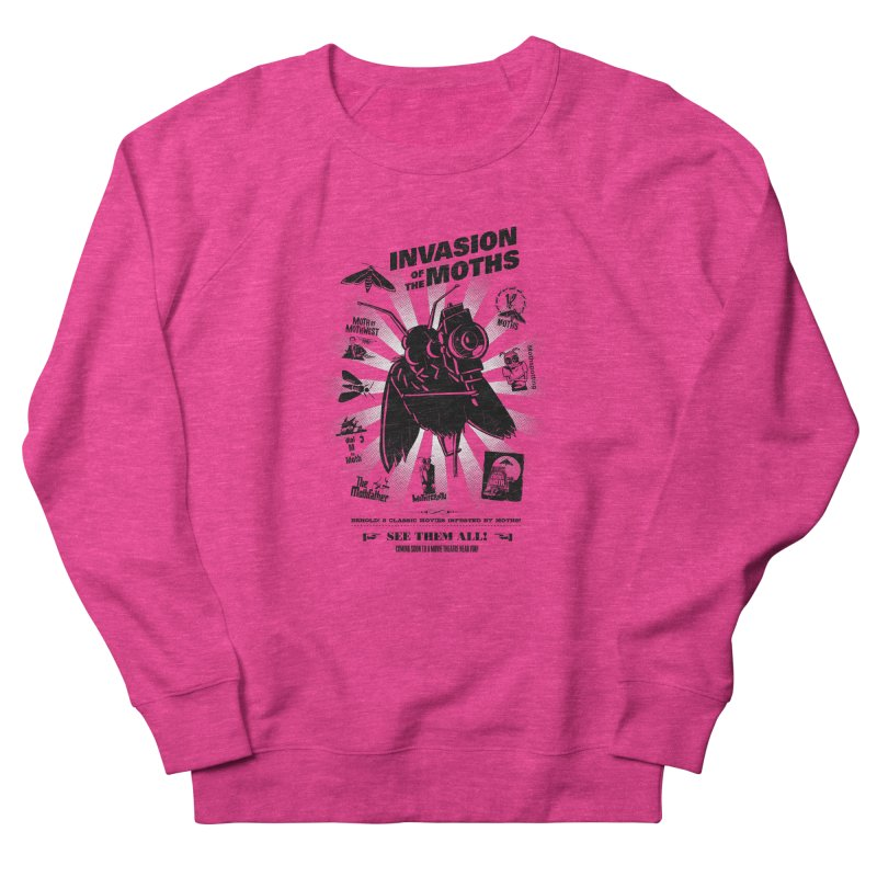 Invasion of the Moths Women's Sweatshirt by Urban Prey's Artist Shop