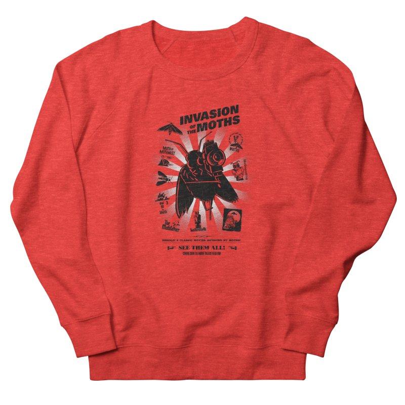 Invasion of the Moths Men's Sweatshirt by Urban Prey's Artist Shop