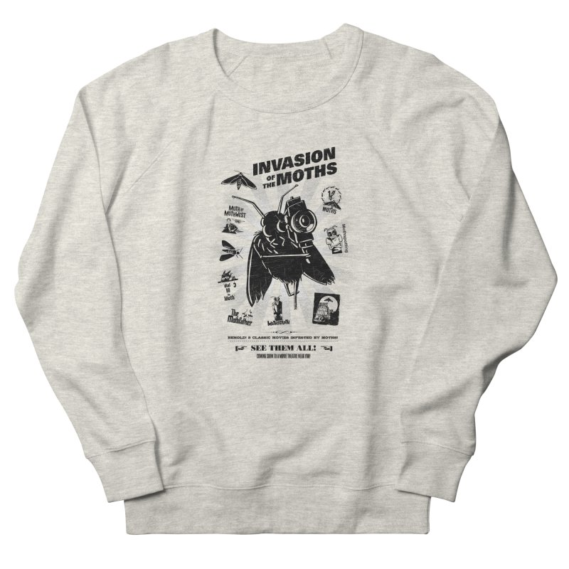 Invasion of the Moths Men's Sweatshirt by Urban Prey's Artist Shop