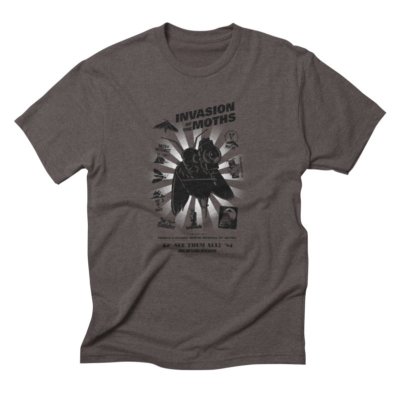 Invasion of the Moths Men's Triblend T-Shirt by Urban Prey's Artist Shop