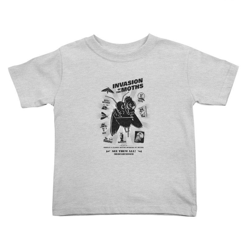 Invasion of the Moths Kids Toddler T-Shirt by Urban Prey's Artist Shop