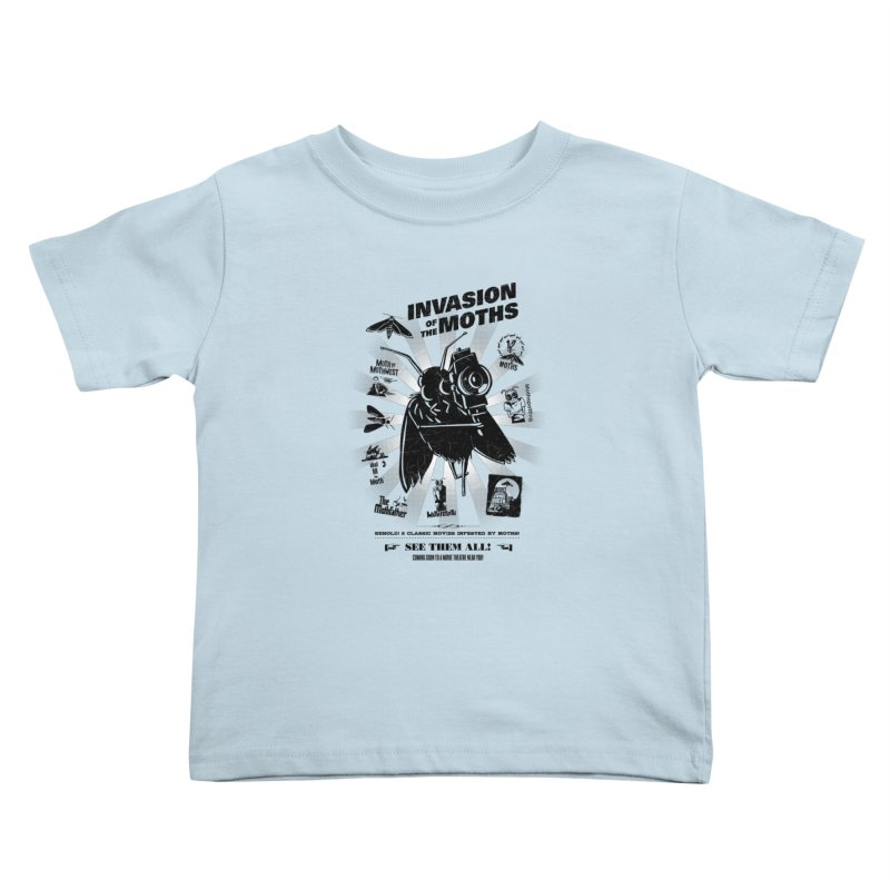 Invasion of the Moths Kids Toddler T-Shirt by Urban Prey's Artist Shop